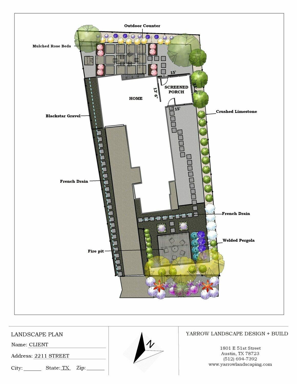 Entire Yard Landscape Design