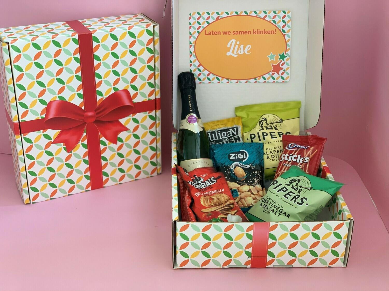 Apero-box - 37.5 cl Champagne