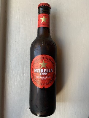 Estrella Damm 330ml Bottle