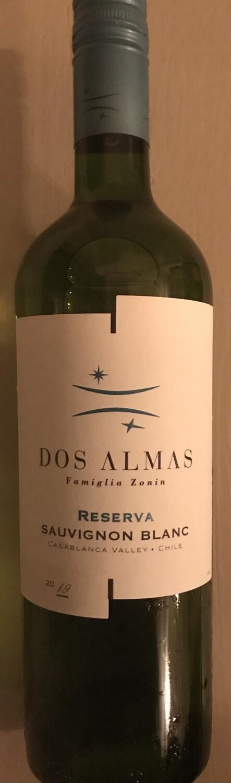 Dos Almas Sauvignon Blanc