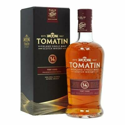Tomatin 14 Year Old Port Wood