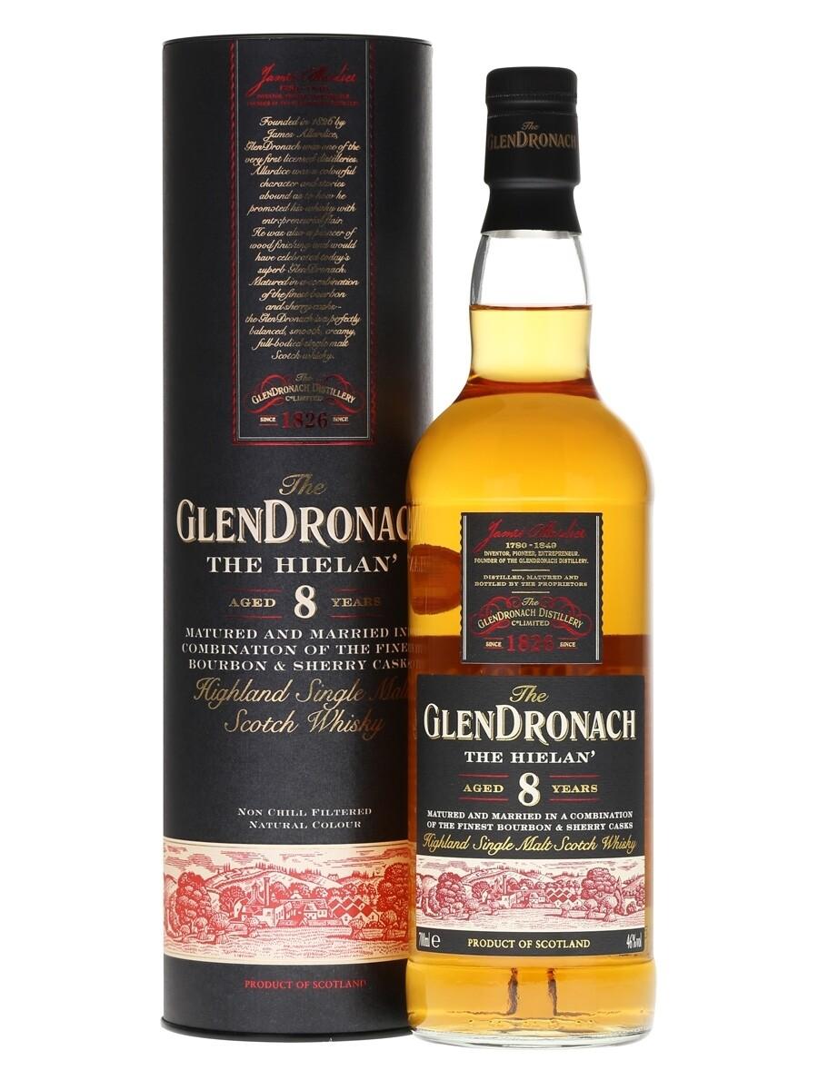 Glendronach 8 Year Old - The Hielan