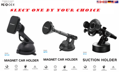Sami Phone Holder For Car Vehicle All Sizes Extendable Super Strong By Techlonics