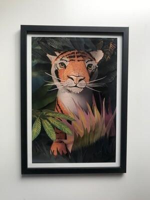 Tiger print (A4)