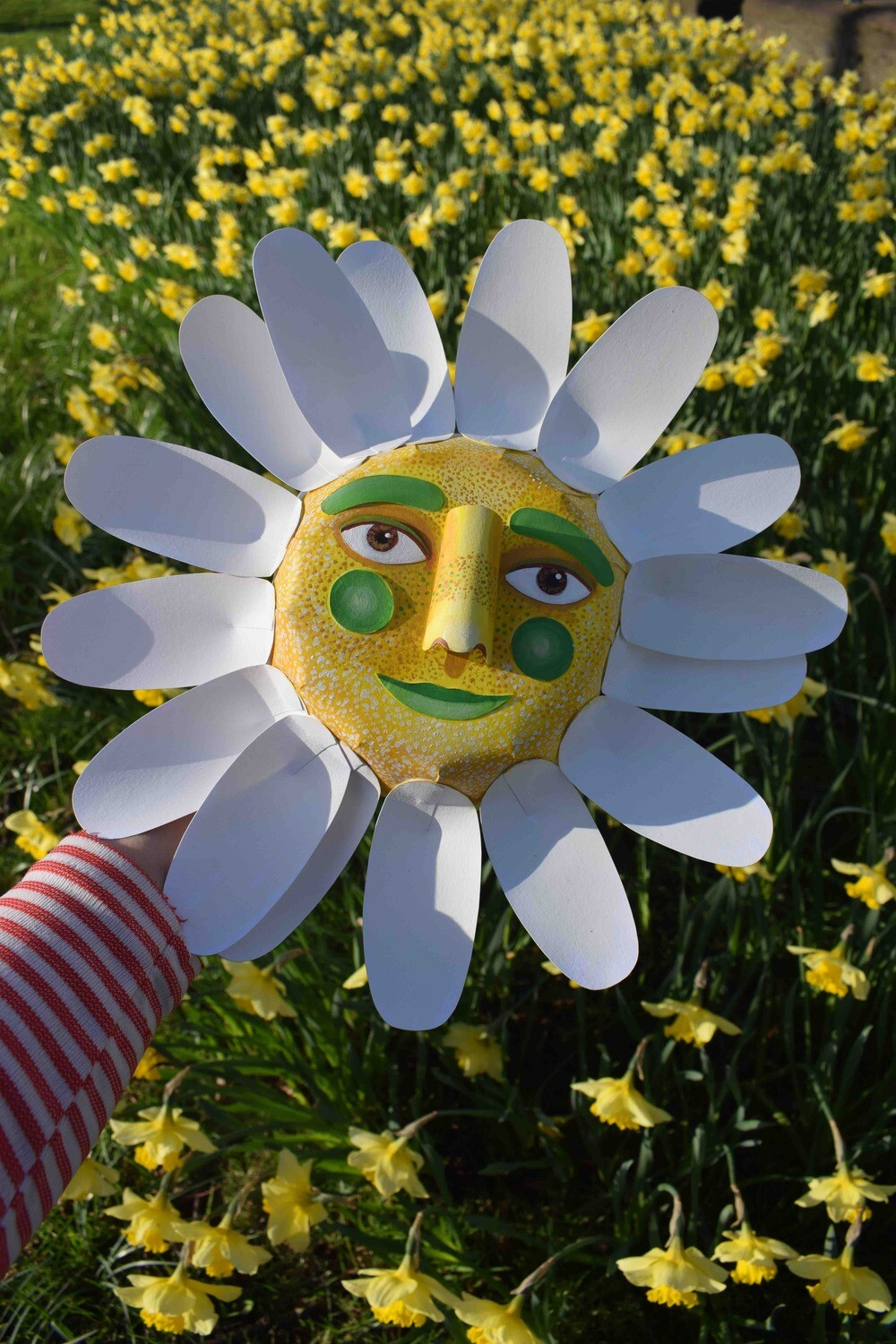 Flower Face Wall Hanging