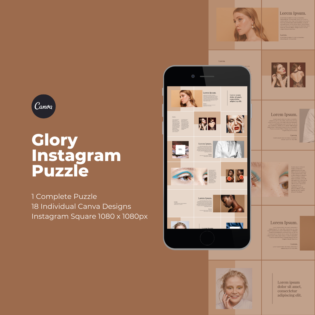 Glory Instagram Puzzle Template