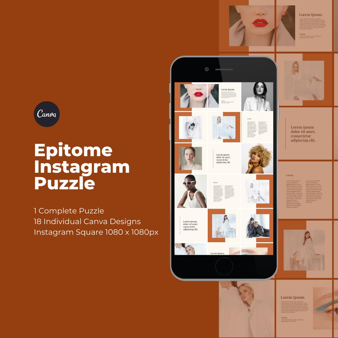 Epitome Instagram Puzzle