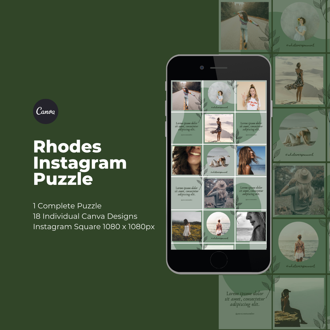 Rhodes Instagram Puzzle