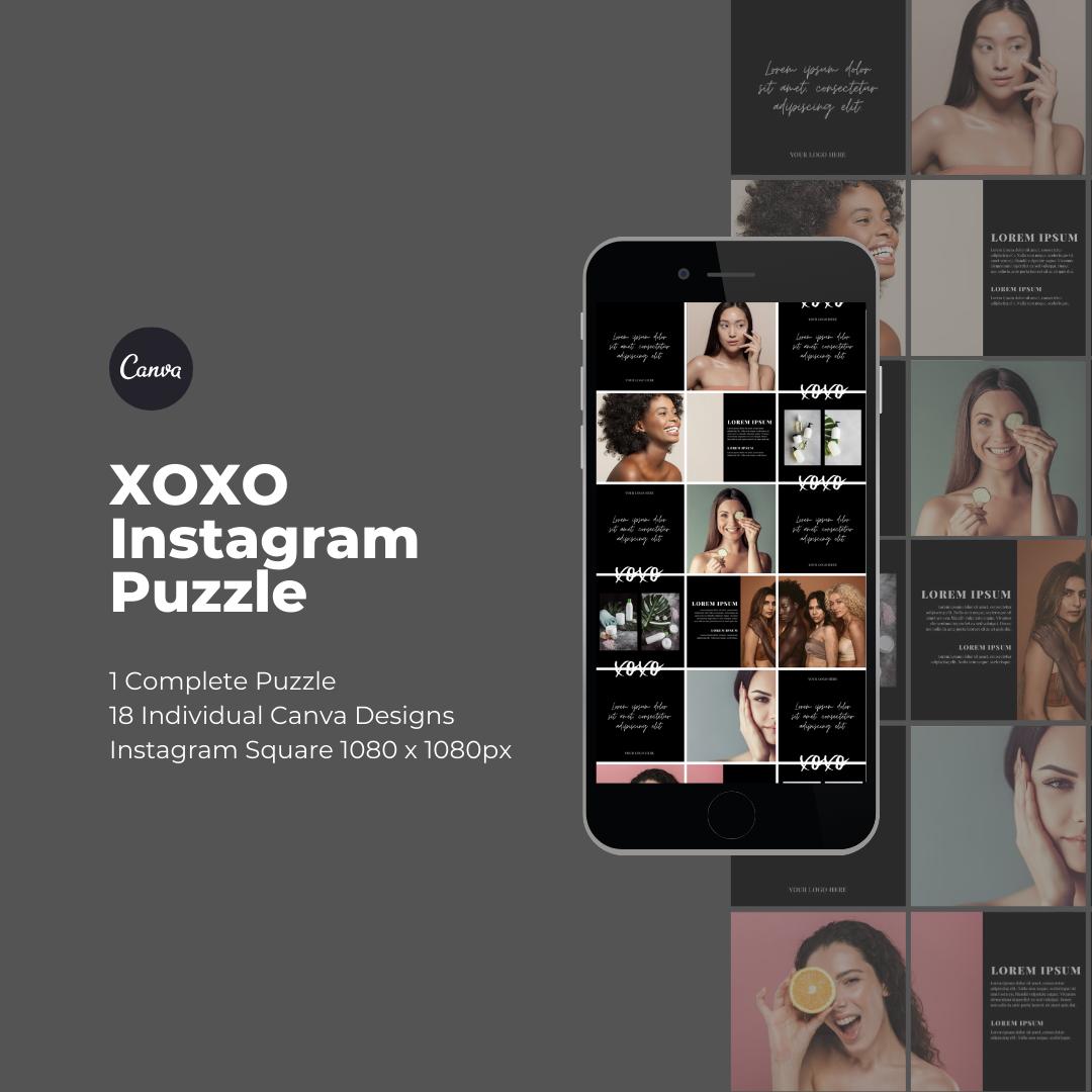 XOXO Instagram Puzzle