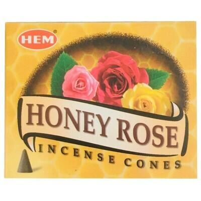 Cône Hem miel de rose