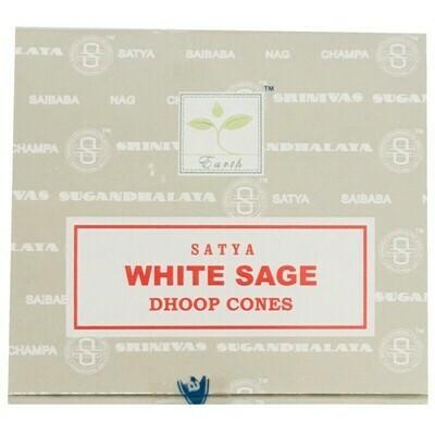 Cône Satya sauge blanche