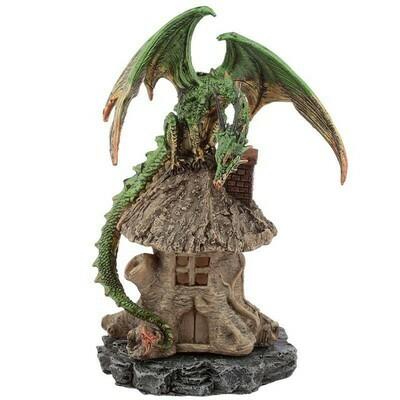 Brûleur de cône d'encens dragon de la forêt