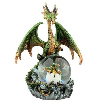 Boule à neige dragon