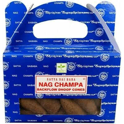 Cône d'encens à reflux Satya Nag Champa