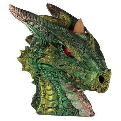 Brûleur d'encens à reflux tête de dragon