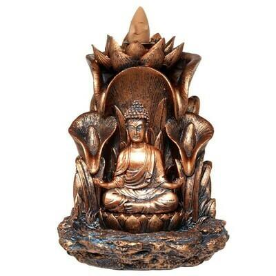 Brûleur d'encens à reflux bouddha