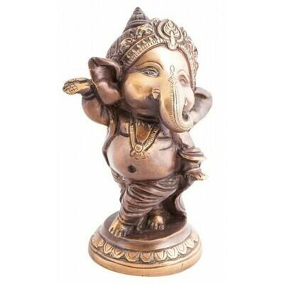 Bébé Ganesh en bronze