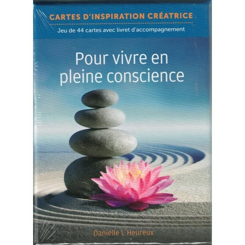 Cartes d'inspiration créatrice pour vivre en pleine conscience
