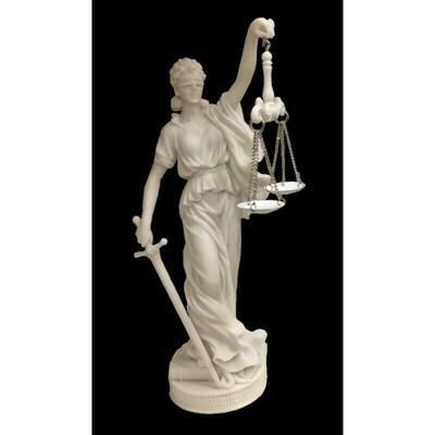 Statue Déesse Justitia