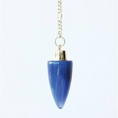 Pendule des druides en cristal de glace