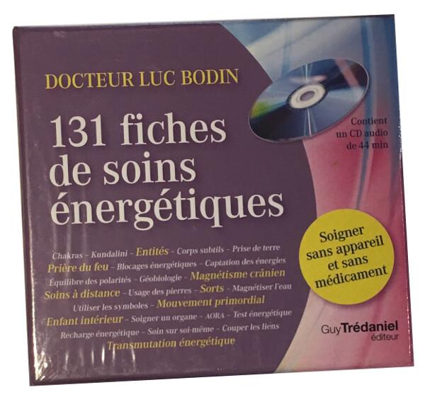 131 fiches de soins énergétiques - Soigner sans appareil et sans médicament