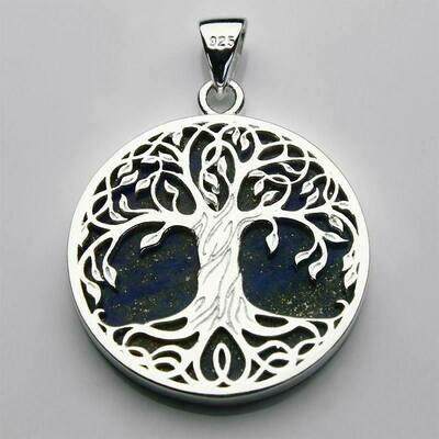 Pendentif Arbre de vie - Lapis Lazuli