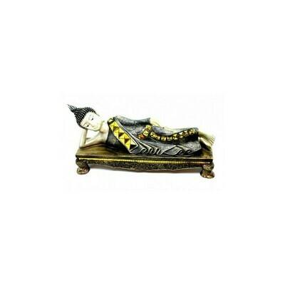 Bouddha couché sur socle