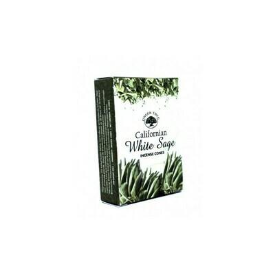Cône Green tree Sauge blanche