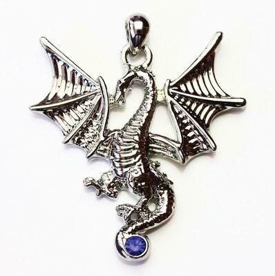 Pendentif dragon volant