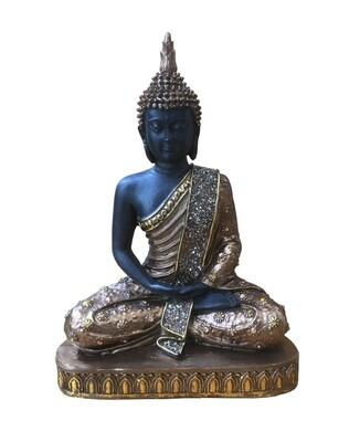 Bouddha thai doré/marron