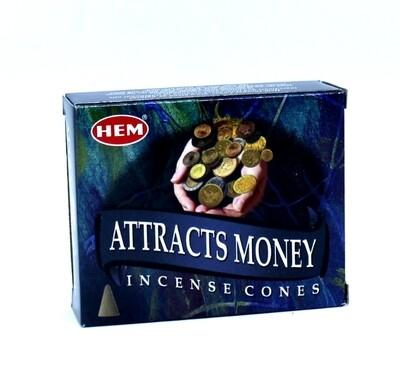 Cône Hem Attire l'argent