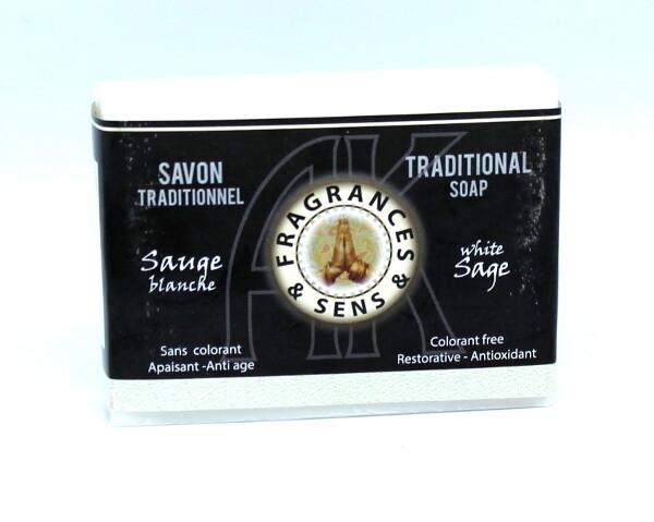 Savon Traditionnel Sauge blanche