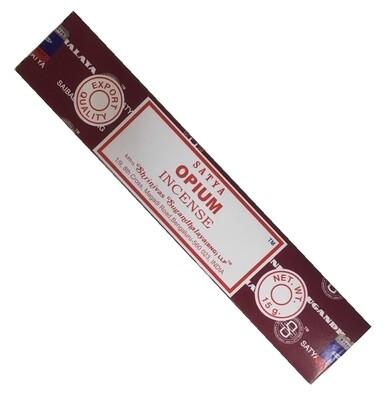 Encens Nag Champa Satya Opium 15 gr