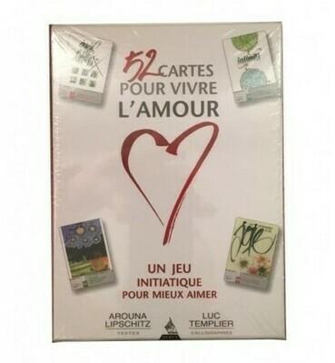 52 cartes pour vivre l'amour + Livre