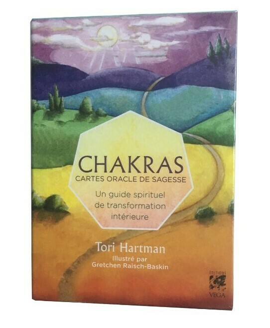 Chakras - Cartes oracle de sagesse
