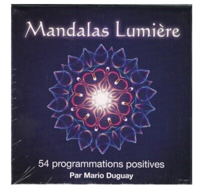 Mandalas Lumière, 54 programmations positives