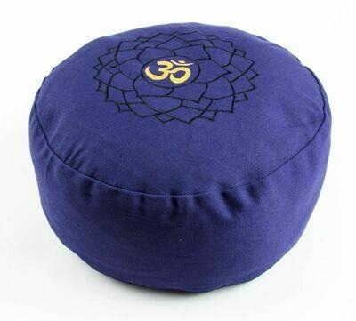 Coussin de méditation chakra couronne