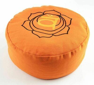 Coussin de méditation chakra sacré