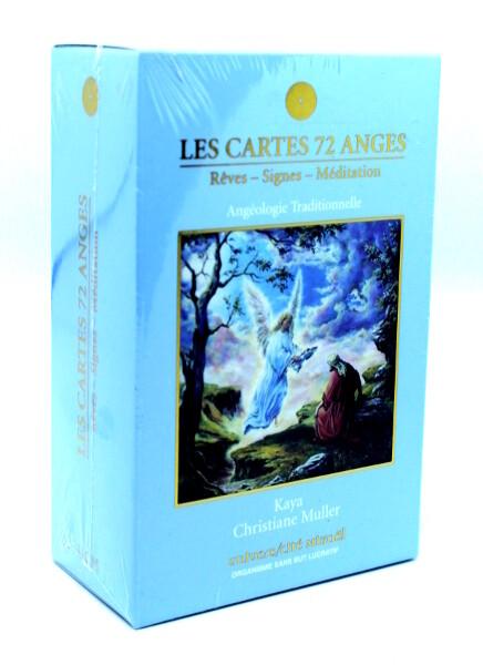 Les cartes 72 Anges - Rêves, signes et méditation