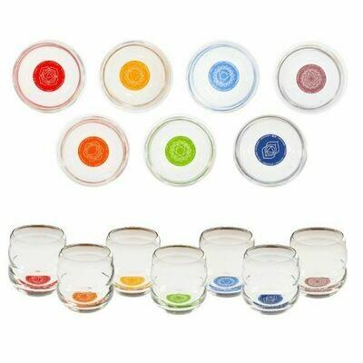Set de verres des 7 chakras