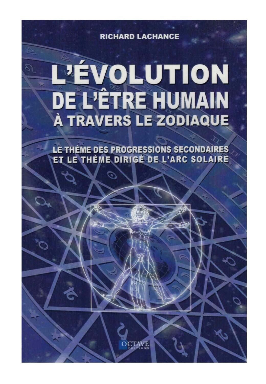 L'evolution de l'etre humain A travers le zodiaque