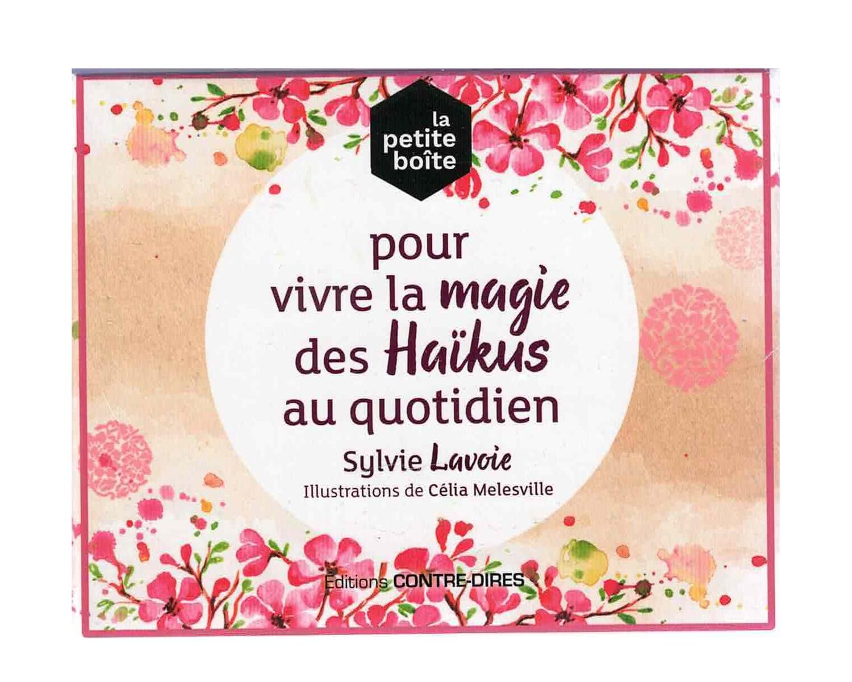 La petite boîte pour vivre la magie des Haïkus au quotidien