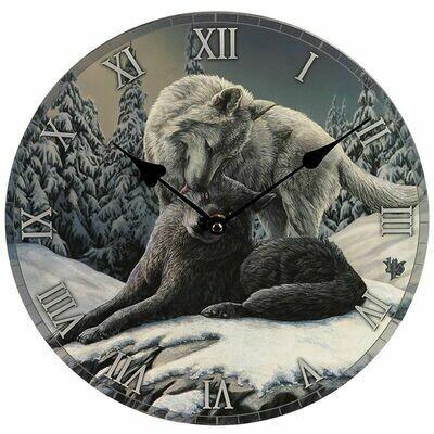Horloge loups