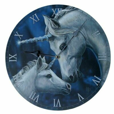 Horloge licornes