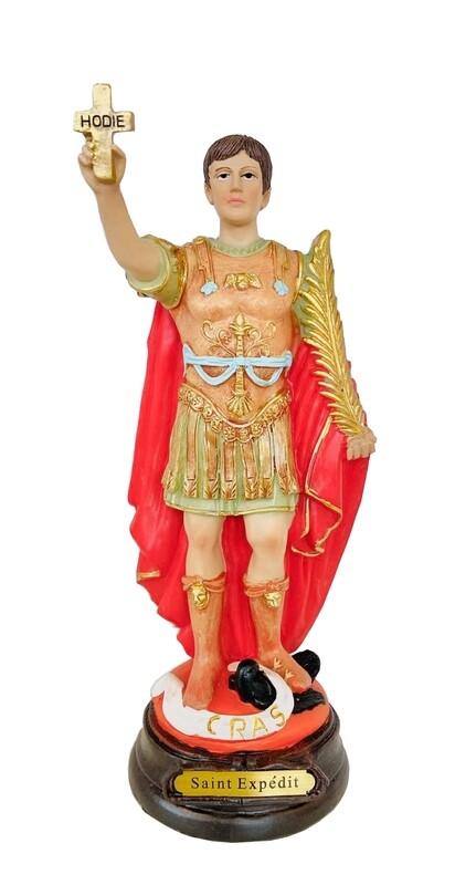 Statue Saint Expédit 20 cm