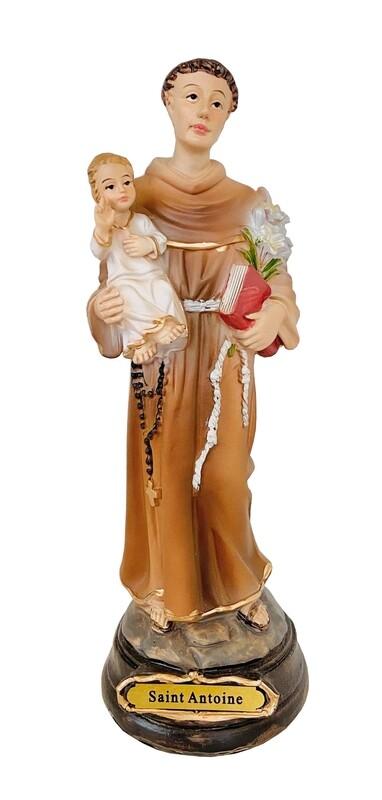 Statue Saint Antoine 20 cm