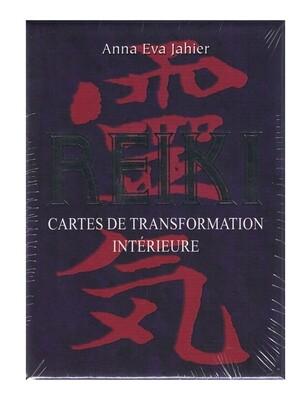 Reiki cartes de transformation intérieure