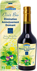 Elixir Bio Elimination, Amincissement, Drainant Biofloral