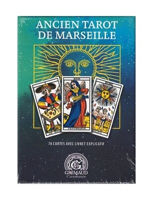 Ancien tarot de Marseille coffret Grimaud