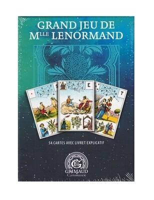 Grand jeu de Mlle Lenormand coffret Grimaud